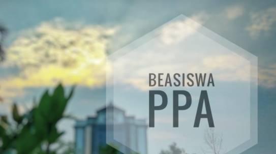 PENERIMA BEASISWA PPA SEMESTER GENAP 2018