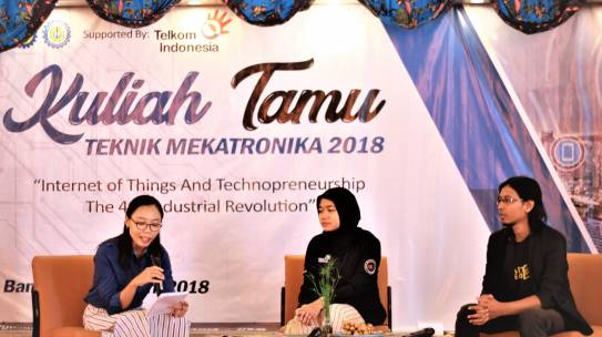 KULIAH TAMU IOT TEKNIK MEKATRONIKA 2018