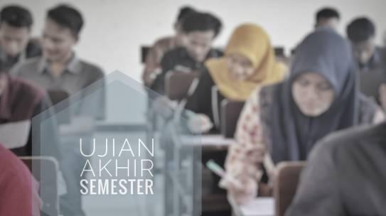 Ujian Akhir Semester (UAS) Semester Genap 2018