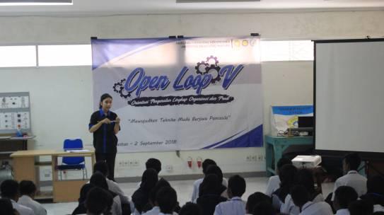 Open Loop Pembentuk Karakter Mahasiswa Baru